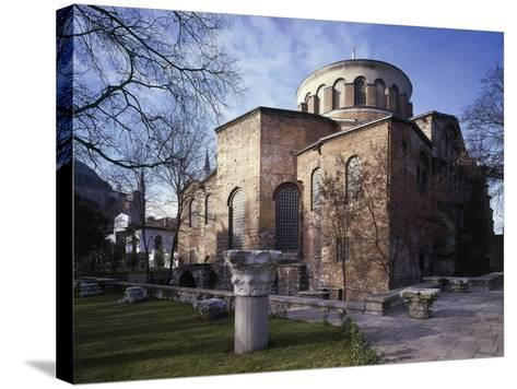 Church of St Irene, 6th-8th Century Byzantine Church, Historic Areas of Istanbul--Stretched Canvas Print
