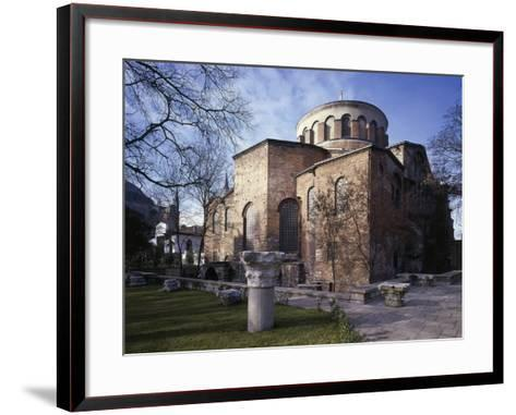 Church of St Irene, 6th-8th Century Byzantine Church, Historic Areas of Istanbul--Framed Art Print