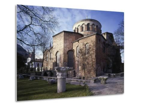 Church of St Irene, 6th-8th Century Byzantine Church, Historic Areas of Istanbul--Metal Print
