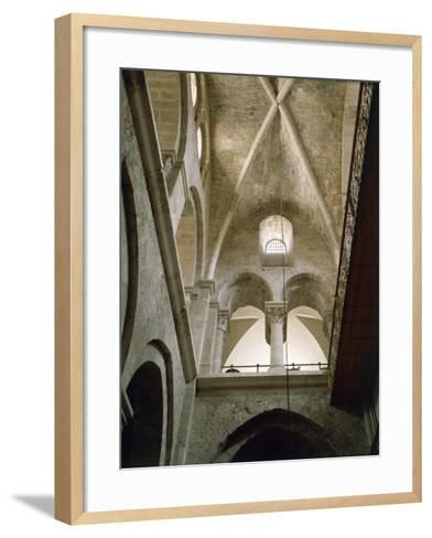 Arches of Virgin in Basilica of Holy Sepulchre or Church of Resurrection, Old City of Jerusalem--Framed Art Print