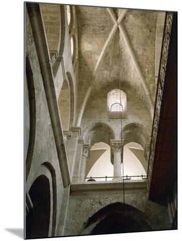 Arches of Virgin in Basilica of Holy Sepulchre or Church of Resurrection, Old City of Jerusalem--Mounted Photographic Print