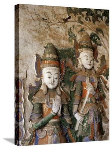 Unrestored Shrines at Nyaung Ohak Monastery, Inle Lake, Shan State, Myanmar--Stretched Canvas Print