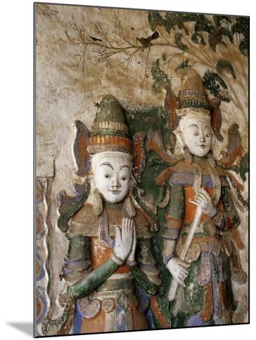 Unrestored Shrines at Nyaung Ohak Monastery, Inle Lake, Shan State, Myanmar--Mounted Photographic Print