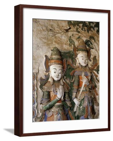 Unrestored Shrines at Nyaung Ohak Monastery, Inle Lake, Shan State, Myanmar--Framed Art Print