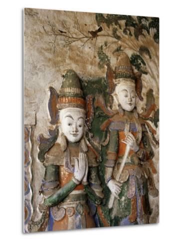 Unrestored Shrines at Nyaung Ohak Monastery, Inle Lake, Shan State, Myanmar--Metal Print