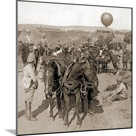 Balloon Corps Transport, with Lord Roberts' Army - Advance on Johannesburg, South Africa, 1901--Mounted Photographic Print