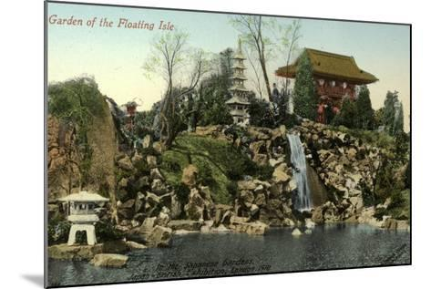 Garden of the Floating Isle in the Japanese Gardens, Japan-British Exhibition, London 1910--Mounted Photographic Print