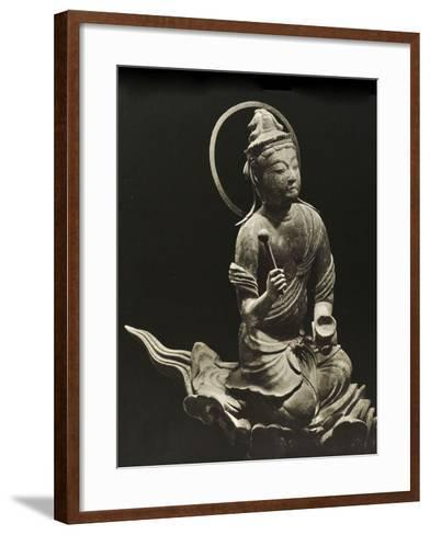 Bosatsu Playing Musical Instrument, from the 11th Century, Late Heian Period, Byodo-In, Kyoto, 1950--Framed Art Print