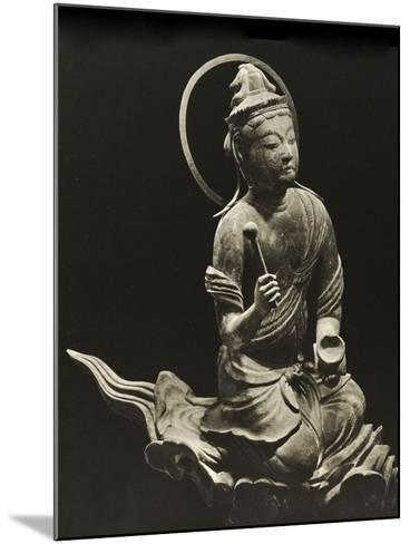 Bosatsu Playing Musical Instrument, from the 11th Century, Late Heian Period, Byodo-In, Kyoto, 1950--Mounted Photographic Print