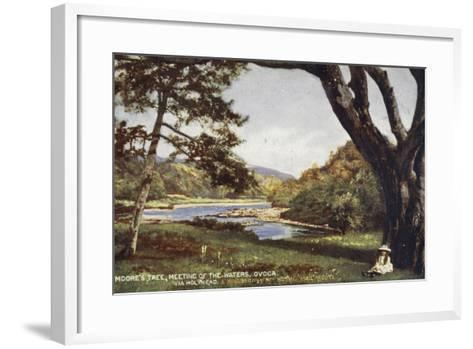Moore's Tree, Meeting of the Waters, Ovoca, Via Holyhead and Kingstown the Royal Mail Route--Framed Art Print