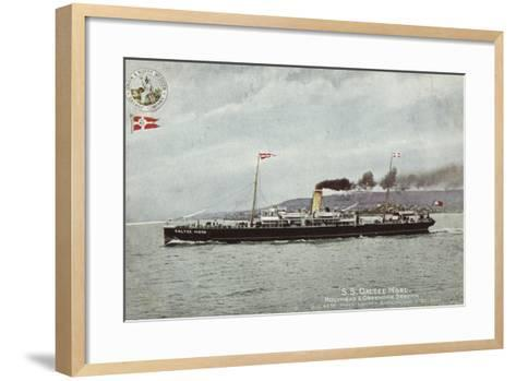 Ss Galtee More, Holyhead and Greenore Service, Quickest Route London, Birmingham and Belfast--Framed Art Print