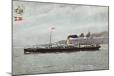 Ss Galtee More, Holyhead and Greenore Service, Quickest Route London, Birmingham and Belfast--Mounted Photographic Print