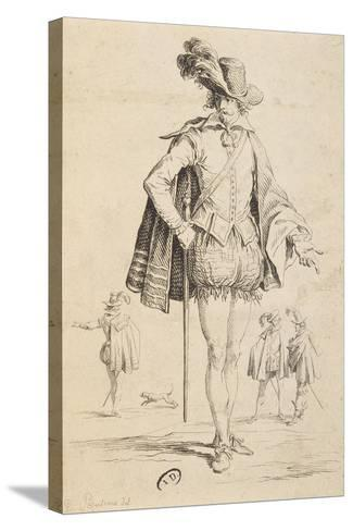 Count of Almaviva from Marriage of Figaro by Pierre-Augustin Caron De Beaumarchais--Stretched Canvas Print