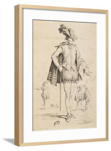Count of Almaviva from Marriage of Figaro by Pierre-Augustin Caron De Beaumarchais--Framed Art Print