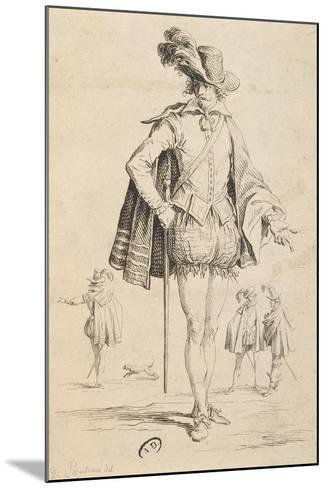 Count of Almaviva from Marriage of Figaro by Pierre-Augustin Caron De Beaumarchais--Mounted Giclee Print