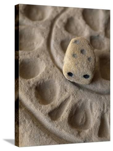 Game with Dice from Temple of Bes, Bahariya Oasis, Giza, Egypt, 26th Dynasty--Stretched Canvas Print