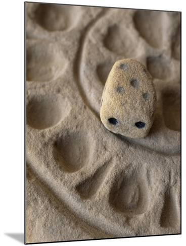 Game with Dice from Temple of Bes, Bahariya Oasis, Giza, Egypt, 26th Dynasty--Mounted Giclee Print