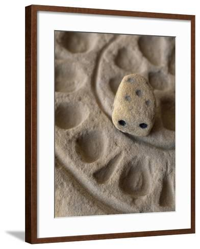 Game with Dice from Temple of Bes, Bahariya Oasis, Giza, Egypt, 26th Dynasty--Framed Art Print