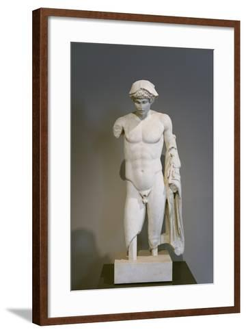 Hermes, Ludovisi or Loghios Style, First Century Ad, National Museum of Rome--Framed Art Print