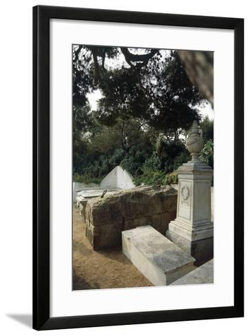 Giuseppe Garibaldi's House on Caprera Island, Sardinia, Italy, Italian Unification--Framed Art Print