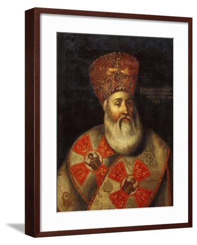 Switzerland, Geneva, Portrait of Patriarch of Constantinople, Cyril Lucaris--Framed Art Print