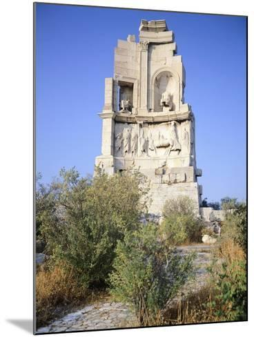 Gaius Julius Antioco Monument, also known with the Name of Philopappou, Athens--Mounted Giclee Print