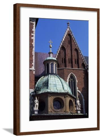 Wawel Royal Castle and Cathedral Basilica of St Stanislaus and St Wenceslas--Framed Art Print
