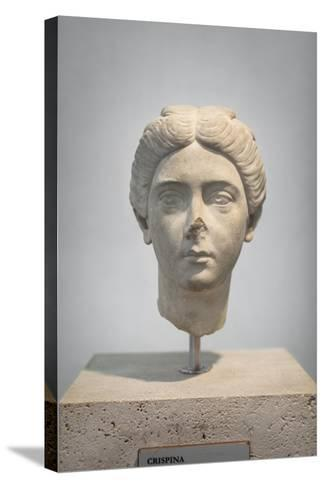 Portrait of Crispina, About 178 Ad, from Villa Adriana, National Museum of Rome--Stretched Canvas Print