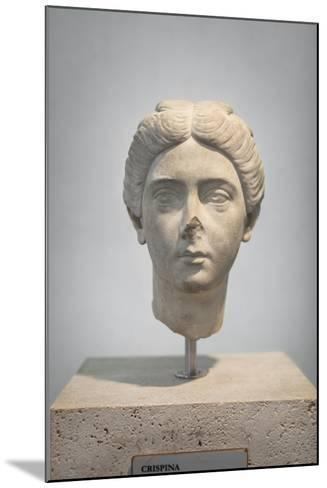 Portrait of Crispina, About 178 Ad, from Villa Adriana, National Museum of Rome--Mounted Giclee Print