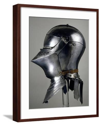 Helmet for Close Combat on Foot, 1490-1492, Which Belonged to Maximilian I of Habsburg--Framed Art Print