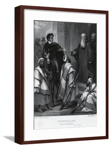 Itinerary from Paris to Jerusalem, 1811--Framed Art Print