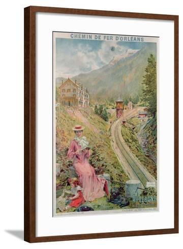 Poster Advertising the Resort of 'Le Lioran, Auvergne' with the 'Chemins De Fer D'Orleans', 1904--Framed Art Print