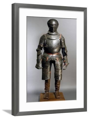 Funeral Corselet in Steel, Which Belonged to Italian Leader Giovanni Dalle Bande Nere--Framed Art Print