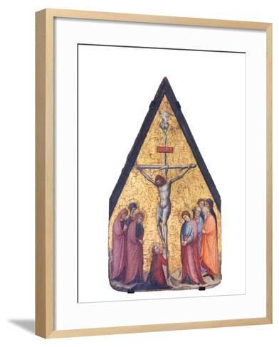 The Crucifixion, Bitino Da Faenza, 1357 -1426 Ca--Framed Art Print