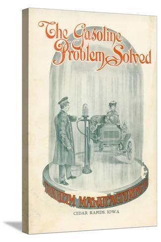 The Gasoline Problem Solved', Advertisement for Tokheim Manufactoring Company, C.1920--Stretched Canvas Print