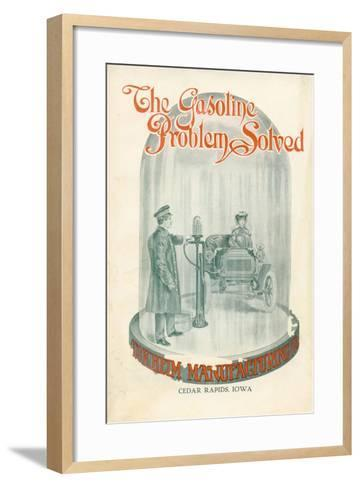 The Gasoline Problem Solved', Advertisement for Tokheim Manufactoring Company, C.1920--Framed Art Print
