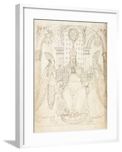 Opposite Title Page of 'Life of William of Wykeham' by Thomas Martin, London 1597--Framed Art Print