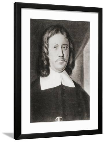 Johan Anthoniszoon 'Jan' Van Riebeeck, from 'Geschiedenis Van Nederland', Published 1936--Framed Art Print