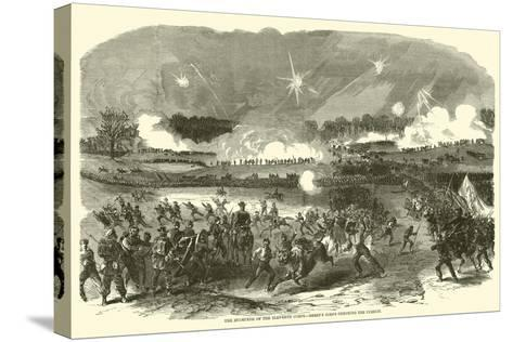 The Stampede of the Eleventh Corps, Berry's Corps Checking the Pursuit, May 1863--Stretched Canvas Print