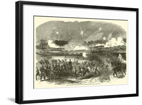 The Stampede of the Eleventh Corps, Berry's Corps Checking the Pursuit, May 1863--Framed Art Print