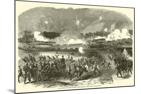 The Stampede of the Eleventh Corps, Berry's Corps Checking the Pursuit, May 1863--Mounted Giclee Print