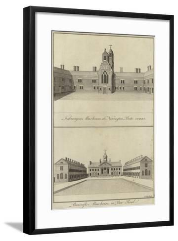 Fishmongers' Almshouses, Newington Butts and Bancroft's Almshouses, Bow Road, London--Framed Art Print