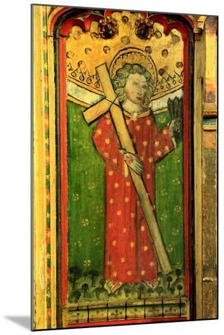 Detail of a Rood Screen Depicting William of Norwich, Church of St Peter and St Paul, Eye, Suffolk--Mounted Giclee Print