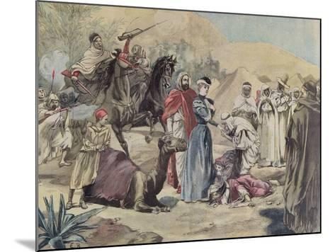 The Marriage of a European Woman to an Arab Chief, from 'Le Petit Journal', 1899--Mounted Giclee Print