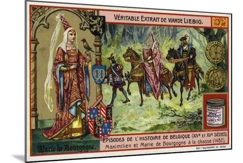 Mary of Burgundy and Her Husband, Archduke Maximilian of Austria, Hunting, 1482--Mounted Giclee Print