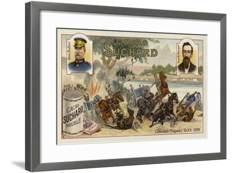 Generals Buller and Burger and the Battle of Colenso, Boer War, 15 December 1899--Framed Art Print