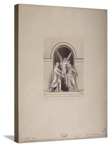 Tomb of Felix and Elisa Baciocchi, San Petronio Basilica, Bologna, C.1900-20--Stretched Canvas Print