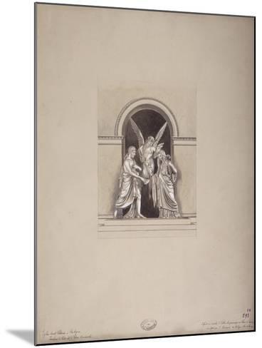 Tomb of Felix and Elisa Baciocchi, San Petronio Basilica, Bologna, C.1900-20--Mounted Giclee Print