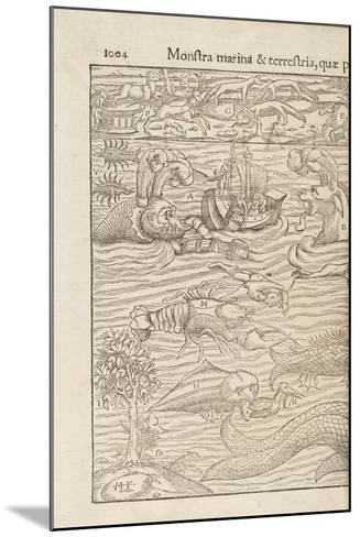 Page 1004 from 'Cosmographiae Universalis' by Sebastian Muenster, Basel, 1572--Mounted Giclee Print