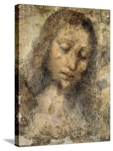 Face of Jesus Christ--Stretched Canvas Print